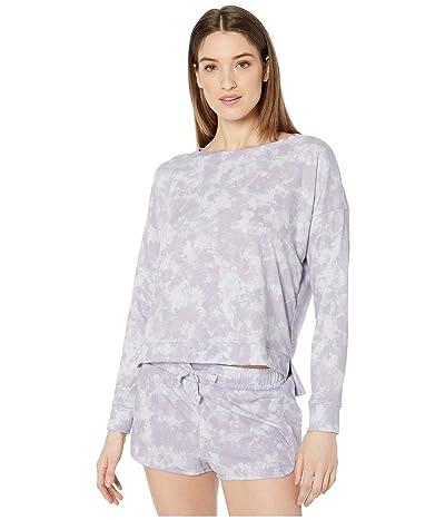 Onzie High-Low Sweatshirt (Lavender Acid) Women