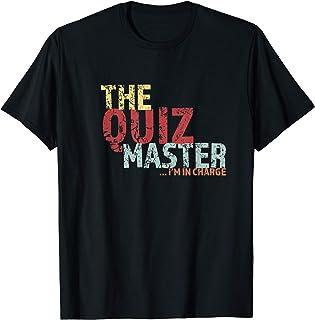 Quiz Master Pub Quiz Drôle T-Shirt
