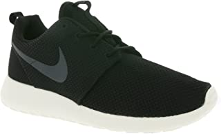 Nike Men's Roshe One Running Shoes, Black/Anthracite-Sail, 13