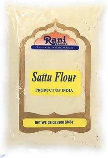 Rani Sattu Flour (Roasted Chana Gram) 28oz (800g) ~ Natural, Salt-Free | Vegan | No Colors | Gluten Friendly | Non-GMO | I...