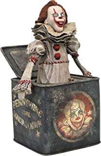 DIAMOND SELECT TOYS It Chapter Two Gallery: Pennywise in The Box PVC Diorama