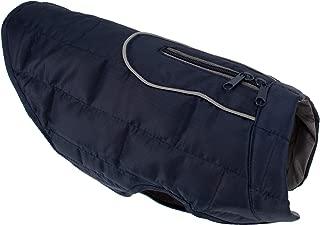 yoyoung Dog Jacket, Reversible Dog Coat, Dog Coat for Cold Weather, Water-Resistant Dog Jacket with Reflective Trim