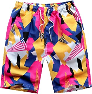 Howely Men's Fast Dry Oversized Loose-Fit Beach Half Pants Shorts