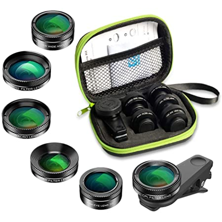 Apexel 6 In 1 Handy Objektiv Kit Super 205 Kamera