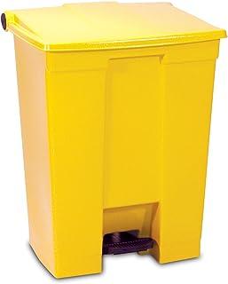 Rubbermaid Commercial Products FG614500YEL Poubelle à Pédale, 68L, Jaune