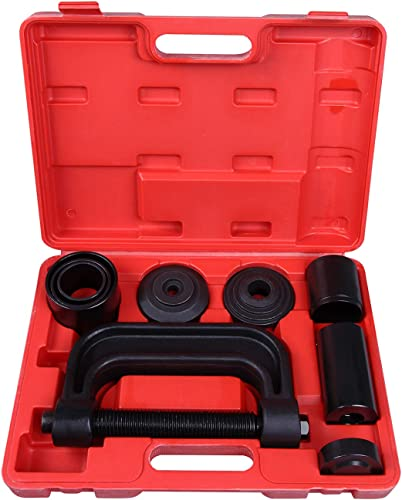 lowest CARTMAN 4-in-1 Ball Joint Deluxe Service Kit Tool Set 2wd & 4wd Vehicles Remover Install, with 4-Wheel online sale wholesale Drive Adapters online sale
