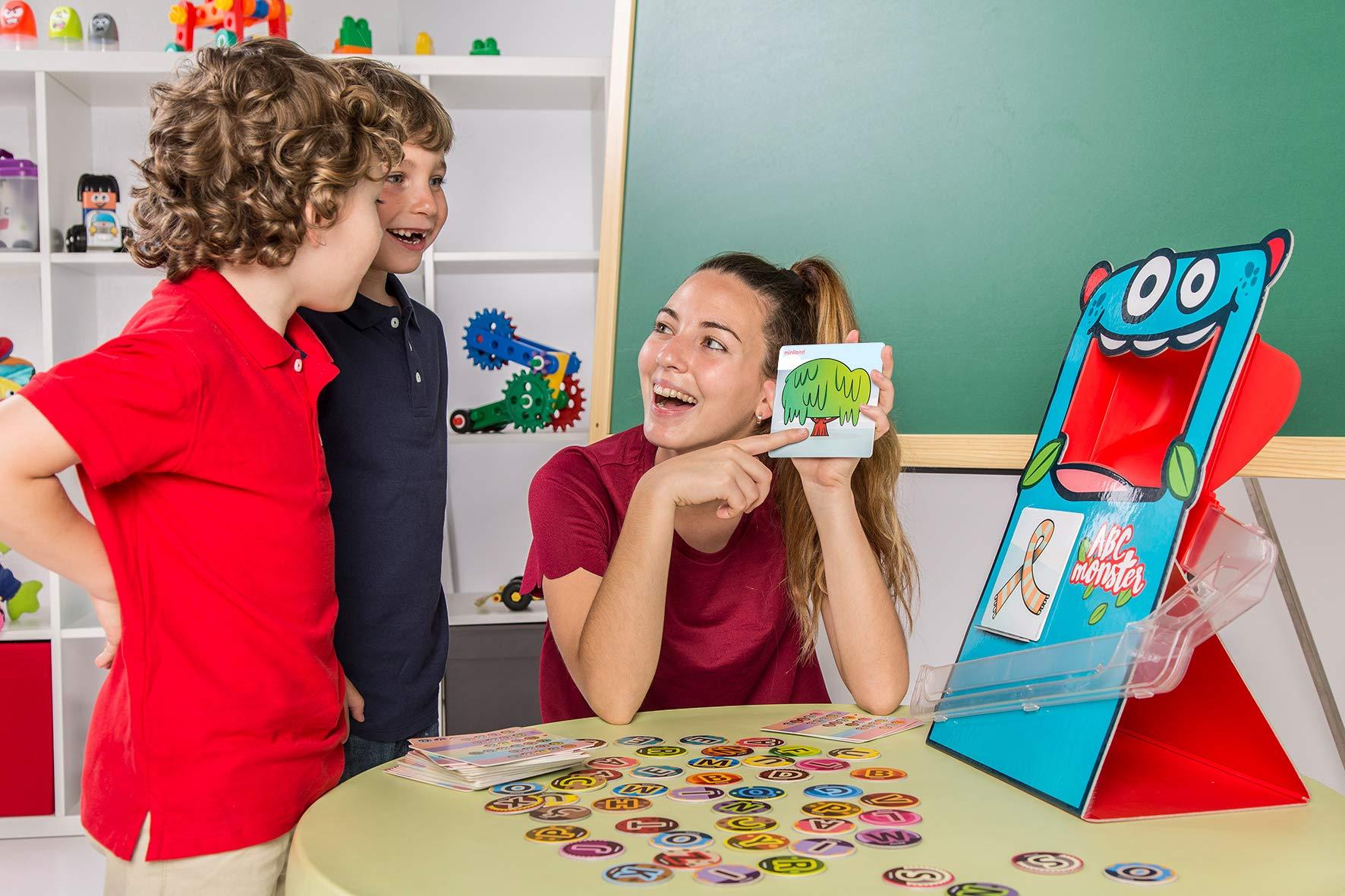 Miniland- ABC Monster Monstruo tragabolas. Juego de lenguaje para niños, Multicolor (31977) , color/modelo surtido: Amazon.es: Juguetes y juegos