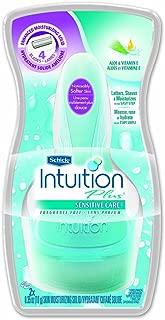 Schick Intuition Plus Shaving Kit for Sensitive Skin, Fragrance Free, 1 each