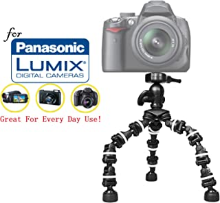 DMC-GX1 Cameras: Collapsible Mono pod DMC-GH3 DMC-GF2 Sturdy 72 Monopod Camera Stick with Quick Release for Panasonic Lumix DMC-GF1 DMC-GM5 DMC-GH4 Mono-pod DMC-GH2 DMC-GH1