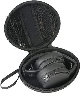 co2crea Hard Travel Case for Skullcandy Crusher S6CRW-K591 Bluetooth Wireless Over-Ear Headphone Microphone
