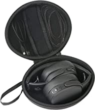 co2crea Hard Travel Case for Skullcandy Crusher S6CRW-K591 Bluetooth Wireless Over-Ear Headphone Microphone