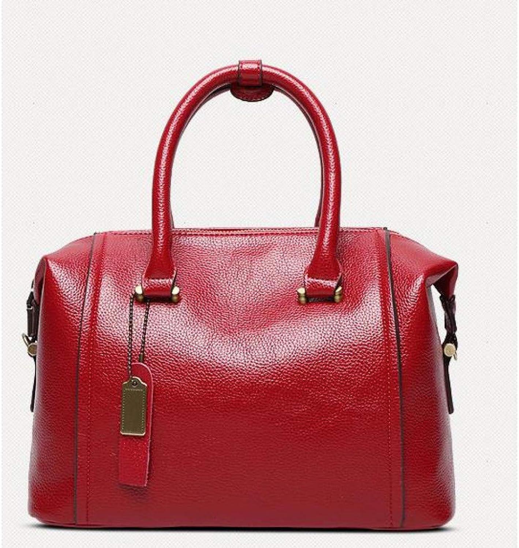 LHKFNU Women TopHandle Bags Female Leather Messenger Handbags Ladies Fashion Shoulder Bags for Girls