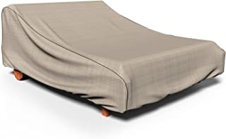 Budge P2A01PM1 Double Chaise Lounge Heavy Duty and Waterproof Patio Furniture Covers, 32