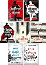 V. E. Schwab 7 Books Collection Set (A Darker Shade of Magic Series,Villains Series,Monsters of Verity Series)
