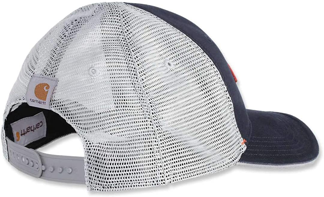 Carhartt Men's Force Mesh Back Graphic Cap, Light Brown, OFA at  Men's Clothing store