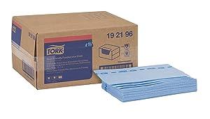 Tork 192196 Quat Friendly Foodservice Towel, 1/4 Fold, 13