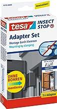 tesa Insect Stop Vliegenhor ALU Comfort Adapterset - Speciaal voor aluminium hordeuren - Montage zonder boren - Antraciet
