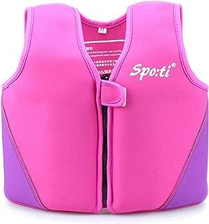 Genwiss Swim Vest for Kids Baby Swim Jacket for Toddler Kids Age 18 Months - 8 Years