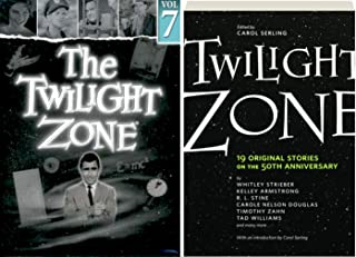 19 Original Stories The Twilight Zone: Rod Serling's landmark series DVD TV 4 episodes Hitch-Hiker / Shadow Play / Perchance to Dream / King Nine Will Not Return & Twilight Zone: The Book Bundle