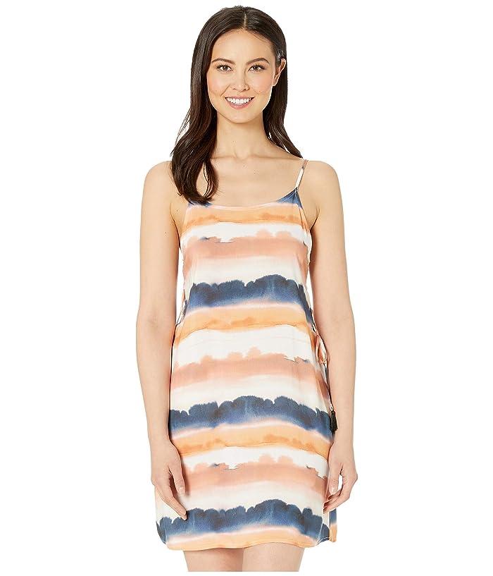 Lucky Brand Sonoma Sky Side-Tie Slip Dress Cover-Up (Multi) Women