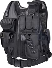 WOLIORS 211 Outdoor Vest Police Law Enforcement Costume Military Swat Paintball Airsoft Tactical Vest