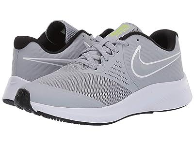 Nike Kids Star Runner 2 (Big Kid) (Cool Grey) Boys Shoes