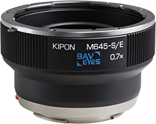 Kipon Focal Reducer Adapter Speedbooster for Mamiya 645 Lens to Sony E Mount Camera