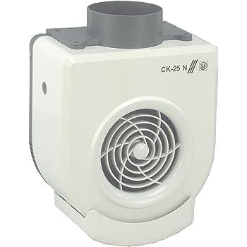 Soler & Palau CK-50 - extractores (Duct, Cocina, Color blanco, 480 m³/h, 1050 RPM, 52 Db): Amazon.es: Bricolaje y herramientas