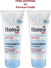 Balea Hand Cream ph 5.5 with Allantoin and Jojoba Oil, 2 x 100 ml, Germany