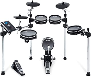 Alesis Command Mesh Kit | Electronic Drum Kit with Mesh Heads, Chrome Rack & Command Drum Module with 70 Kits, 600+ sounds...