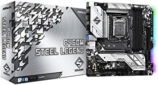 ASROCK B460M STEEL LEGEND Supports 10th Gen Intel® Core™ Processors(Socket 1200) motherboard