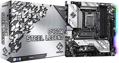 ASROCK B460M Steel Legend Supports 10th Gen Intel Core Processors(Socket 1200) Motherboard