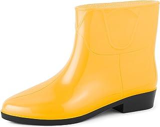 Ladeheid Botines Botas de Agua Zapatos Mujer LAZT201801