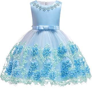 Baby Girls Flower Dress Wedding Party Toddler Dres Birthday Special Occasion Girls Dress