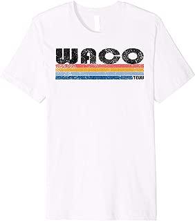 Vintage 1980s Style Waco TX T Shirt