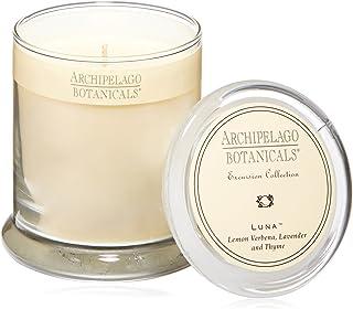 Archipelago Botanicals Luna Glass Jar Candle. Fresh Scent...