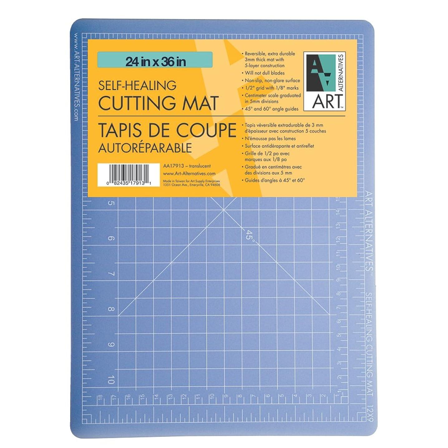 Alvin TM2236 TM Series Cutting Mats, 24 x 36 inches, Clear