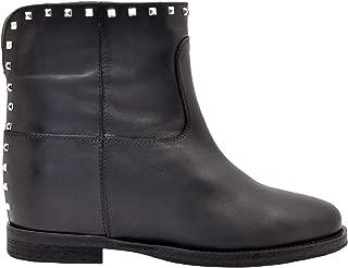 VIA ROMA 15 Luxury Fashion Womens 3158BLACK Black Ankle Boots | Fall Winter 19
