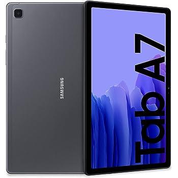 "Samsung Galaxy Tab A7 Tablet, Display 10.4"" TFT, 32GB Espandibili fino a 1TB, RAM 3GB, Batteria 7.040 mAh, WiFi, Android 10, Fotocamera posteriore 8 MP, Dark Gray [Versione Italiana]"