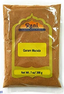 Rani Garam Masala Indian 11 Spice Blend 7oz (200g) ~ All Natural, Salt-Free | Vegan | No Colors | Gluten Free Ingredients | NON-GMO | Indian Origin