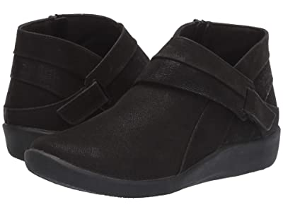Clarks Sillian Rani (Black Synthetic) Women