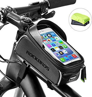 RockBros Bike Front Frame Bag Cycling Waterproof Top Tube...
