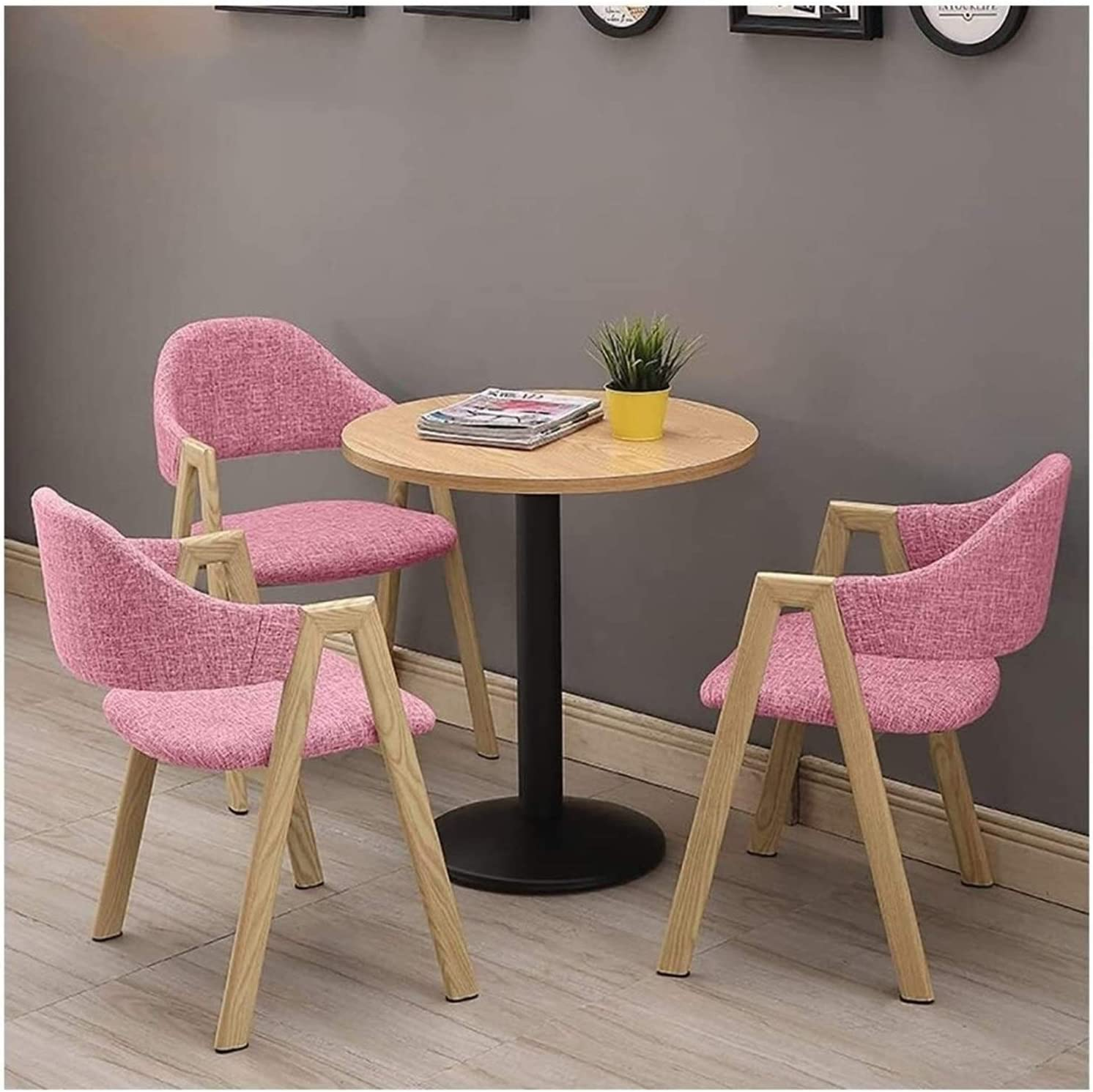 Department store Memphis Mall BUYT Office Reception Room Club Chair Ch Set Table and