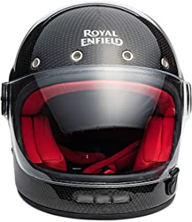 Royal Enfield Black Full Face With Visor Helmet Size (XL)62 CM (RRGHEI000039)
