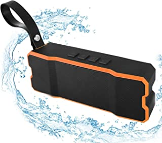 Waterproof Bluetooth Speaker, Poweriver OceanVoxⅡ with Loud Sound Rich Bass, Portable Loop, Solid Built for Shower, Sport, Beach by 3 Playback ModeSpeakers with MP3 Player IPX65 for iPhone iPad&iPod