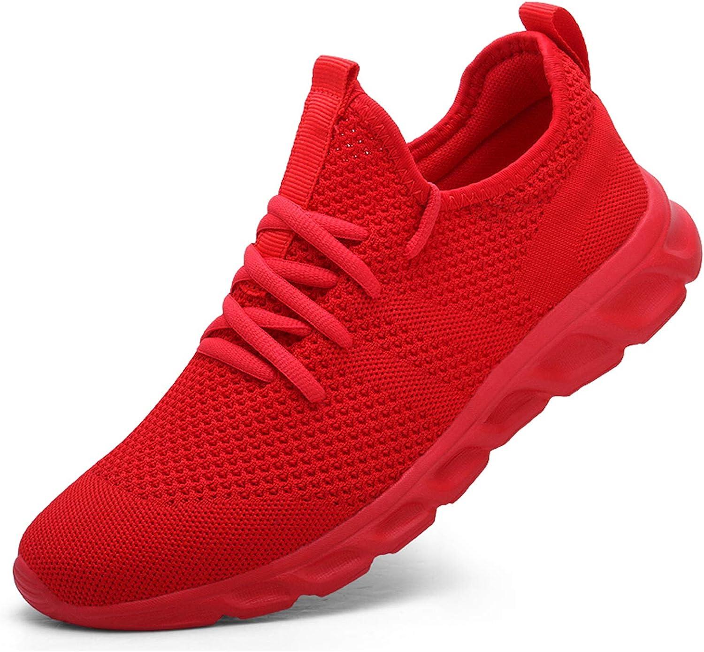 Damyuan Women's Walking Shoes Tennis Sneakers Casual Lace Up Lightweight Running Shoes