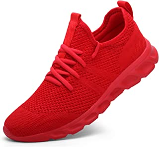Women's Walking Shoes Tennis Sneakers Casual Lace Up...