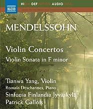 Violin Concertos in E minor Op 64