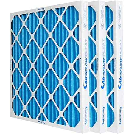 12-pack 14x25x1 MERV 8 Pleated Home A//C Furnace Air Filter
