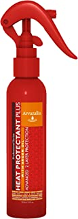 Heat Protectant Plus with Argan Oil - Professional Grade Thermal Protector, Leave-in Conditioner, Anti-frizz, and Shine Spray By Arvazallia